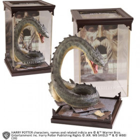 Harry Potter: Magical Creatures Statue Basilisk 19 cm