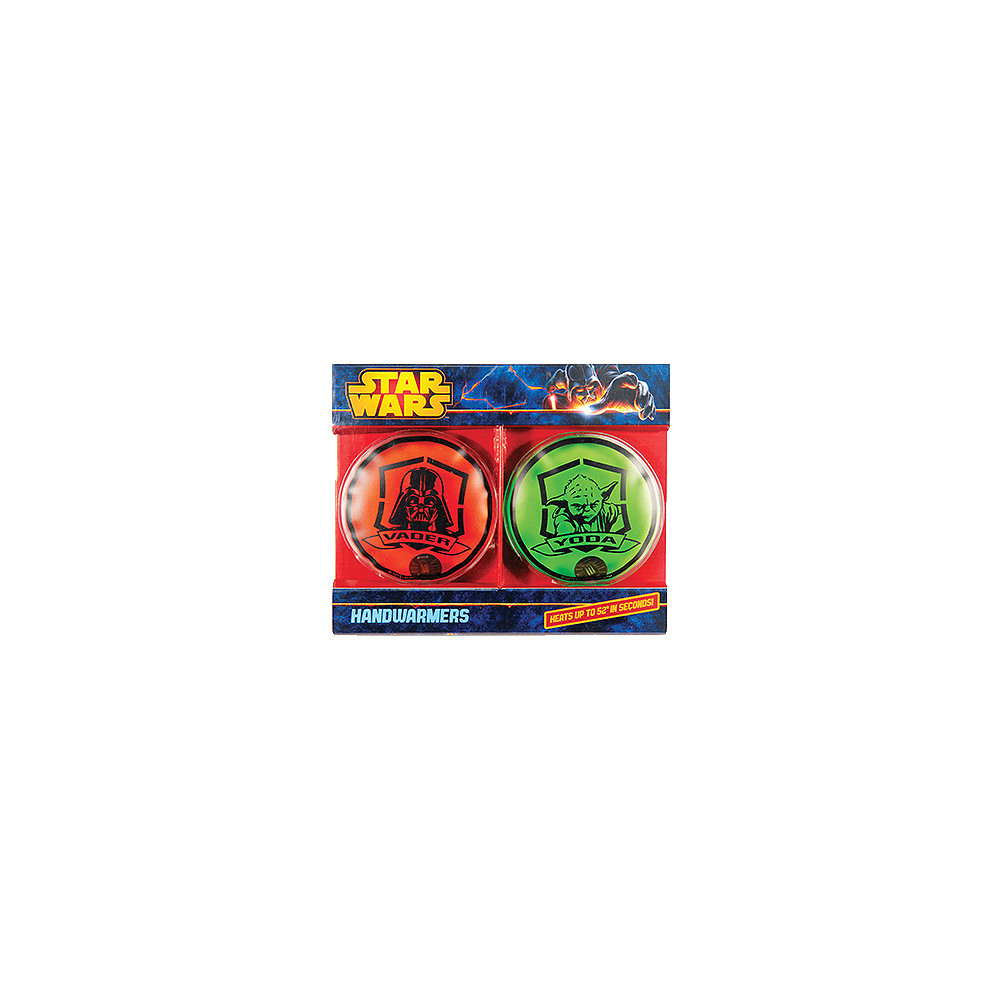 Star Wars: Hand Warmers 2-Pack Darth Vader and Yoda
