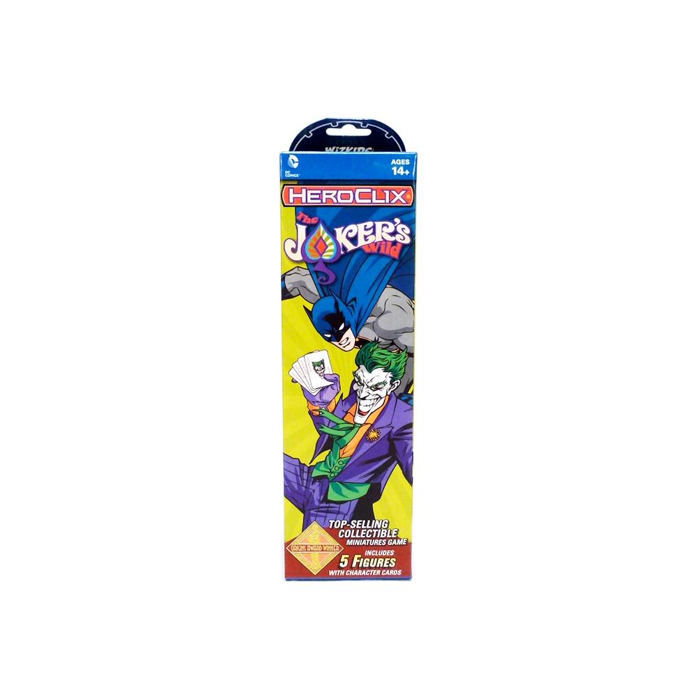 DC Comics HeroClix: The Joker's Wild Booster Pack