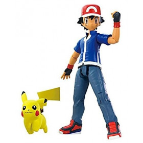 Pokemon: Ash & Pikachu Action Figures 2-Pack