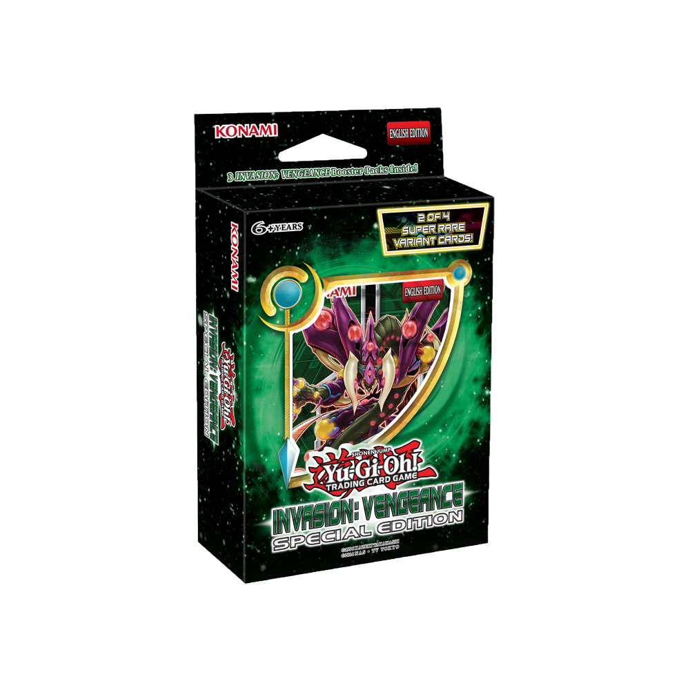 Yu-Gi-Oh!: Invasion: Vengeance Special Edition