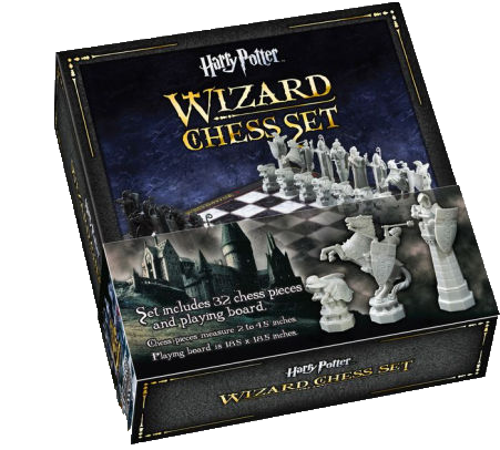 Harry Potter Chess Set: Wizards Chess
