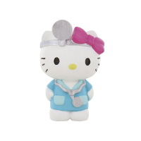 Hello Kitty: Mini Figure Hello Kitty Doctor 6 cm
