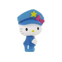 Hello Kitty: Mini Figure Hello Kitty Police 6 cm