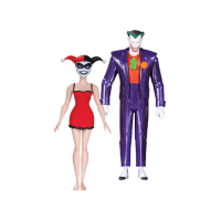DC Comics: Batman Animated Series - The Joker & Harley Quinn Mad Love 15 cm
