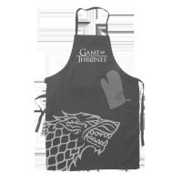 Game of Thrones: Șorț și mănușă de bucătărie Stark