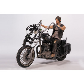 The Walking Dead: Action Figure Daryl Dixon with Chopper
