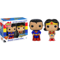 Funko Pop: Superman & Wonder Woman
