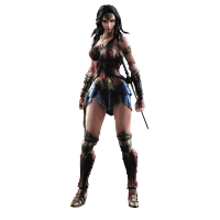 Play Arts Kai Action Figure: Batman v Superman Dawn of Justice - Wonder Woman