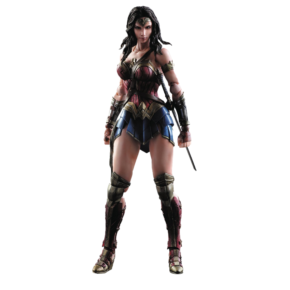 Play Arts Kai Action Figure: Batman v Superman Dawn of Justice - Wonder Woman