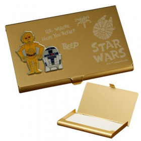Business Card - Star Wars Saga - C-3PO & R2-D2
