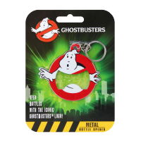 Ghostbusters: Keychain with Bottle Opener Logo