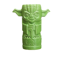 Star Wars: Yoda Geeki Tiki Glass