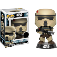 Funko Pop: Star Wars - Rogue One - Scarif Stormtrooper with Rifle