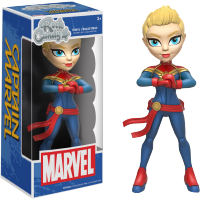 Funko Rock Candy - Captain Marvel