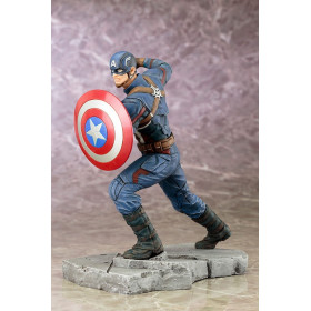 Captain America Civil War: Captain America Artfx+ Statue