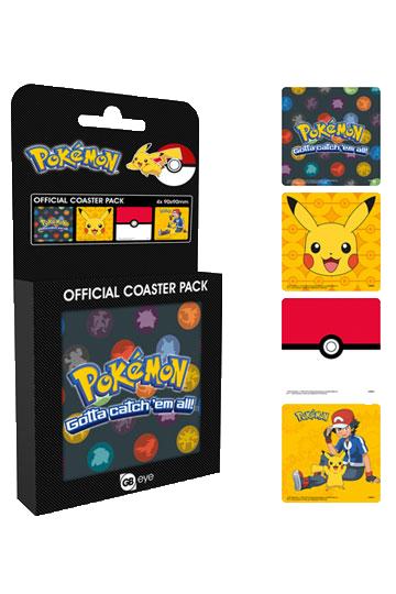 Pokemon: Set suport pahare Mix