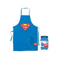 Superman: Șorț și mănușă de bucătărie Logo