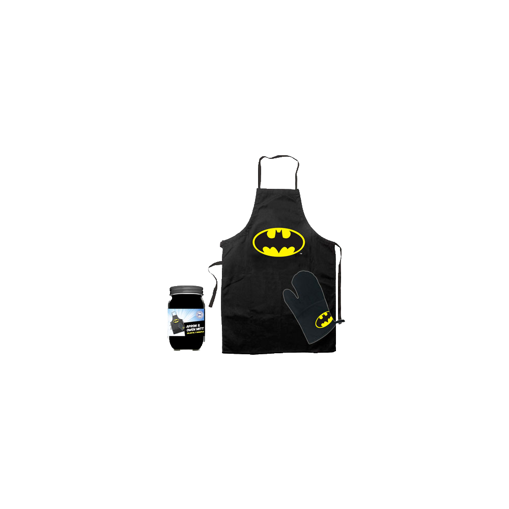 Batman: Șorț și mănușă de bucătărie Logo