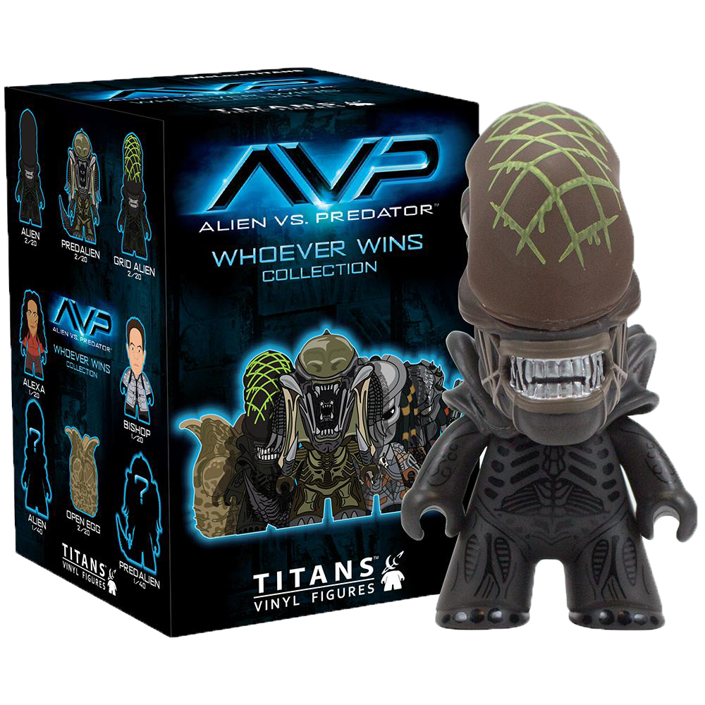 Mystery Mini Blind Box: Alien vs Predator Titans (Series 1)