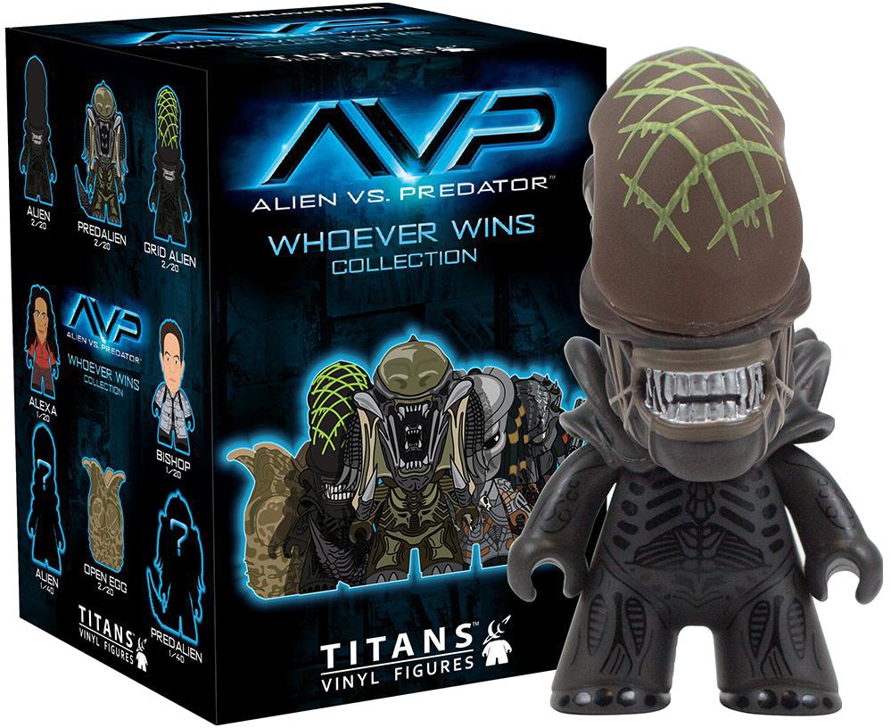 Mystery Mini Blind Box: Alien vs Predator Titans - Series 1