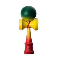 Kendama Atack Fully Faded Rasta