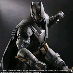 Play Arts Kai Action Figure: Batman Armored Variant
