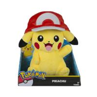 Pokemon: Figurină de pluș - Pikachu With Ash Hat