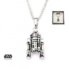 Star Wars - Lănțișor R2-D2 (din argint)