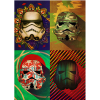 Star Wars: Metal Poster Pop Art Troopers Camo Squad