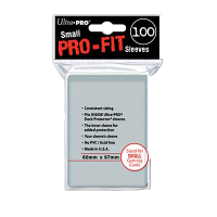 Ultra PRO Sleeves: Pro-Fit Small (100)