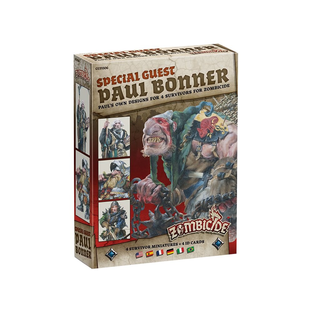 Zombicide: Black Plague - Paul Bonner Special Guest