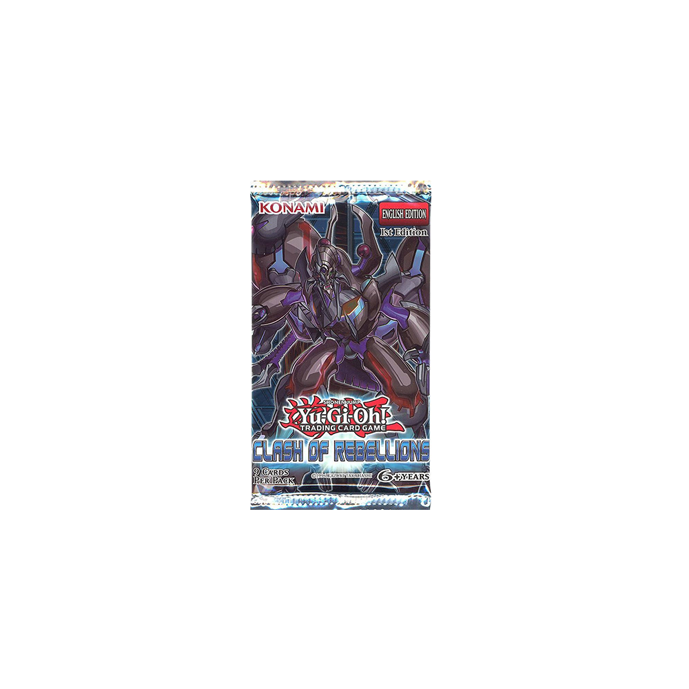 Yu-Gi-Oh!: Clash of Rebellions - Booster Pack