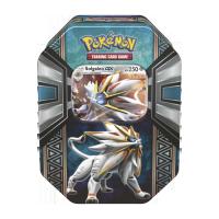 Pokemon Trading Card Game: 2017 Spring Tin - Legends of Alola - Solgaleo-GX