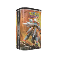 Pokemon Trading Card Game: Deck Shield Tin Solgaleo