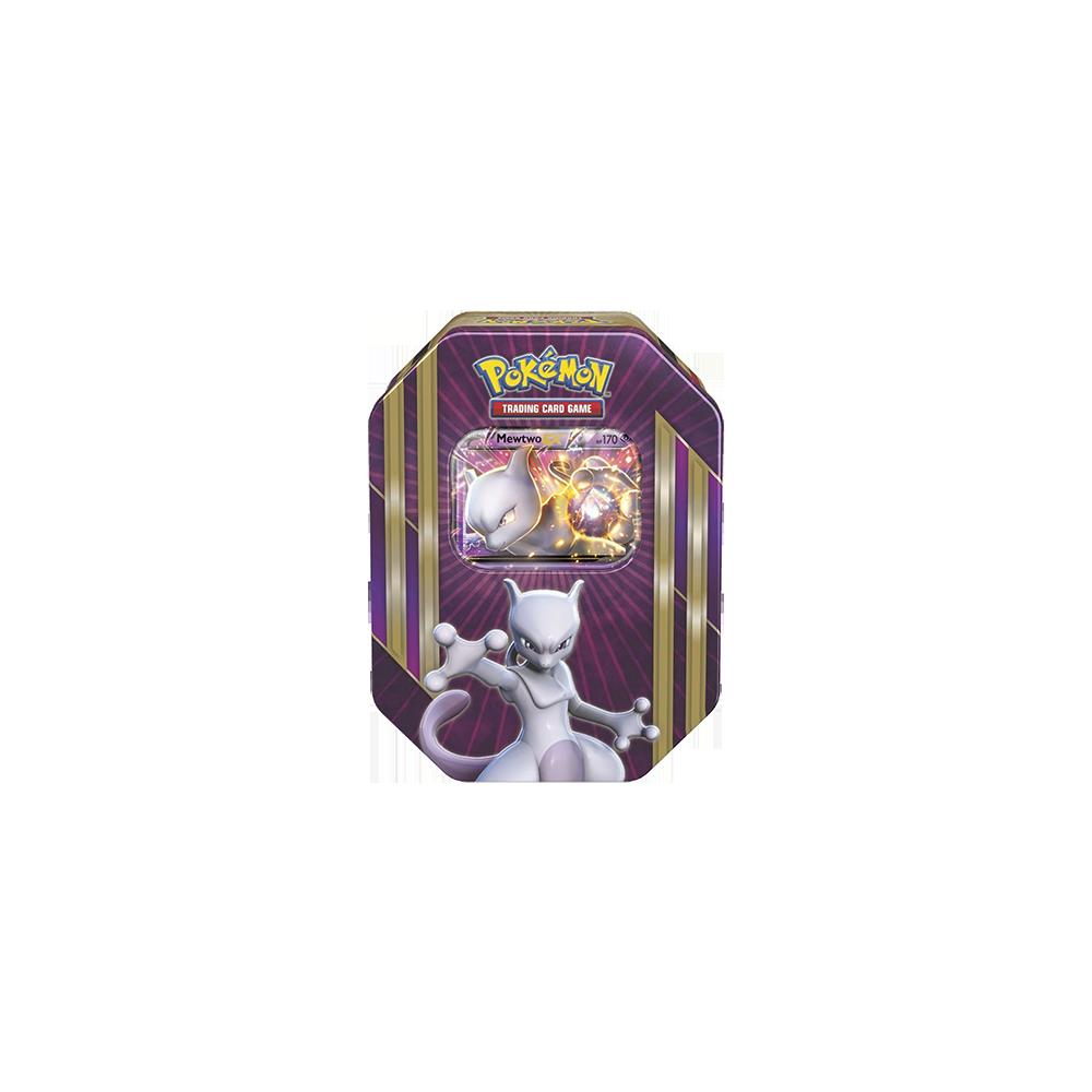 Pokemon Trading Card Game: XY 2016 Spring Tins - Mewtwo EX