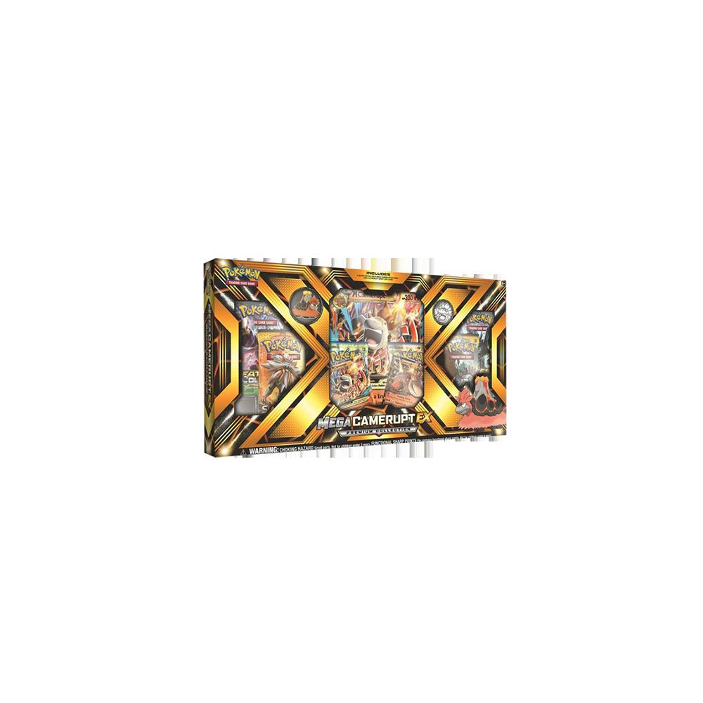 Pokemon Trading Card Game: Mega Camerupt EX Box