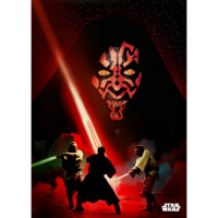 Star Wars: Poster de Metal - Darth Maul Duel