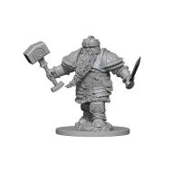 D&D Nolzurs Marvelous Unpainted Miniatures: Dwarf Male Fighter