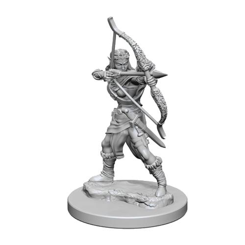D&D Unpainted Miniatures: Elf Female Ranger