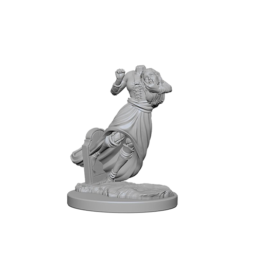 D&D Unpainted Miniatures: Ghost