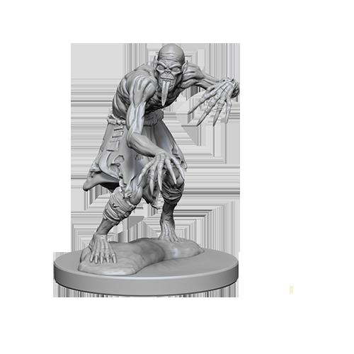 D&D Unpainted Miniatures: Ghouls
