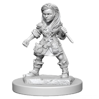 D&D Nolzurs Marvelous Unpainted Miniatures: Halfling Female Rogue
