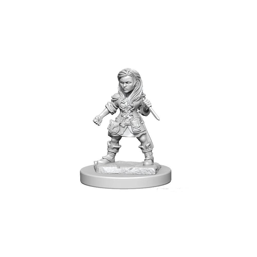 D&D Nolzurs Marvelous Unpainted Miniatures: Halfling Female Rogue