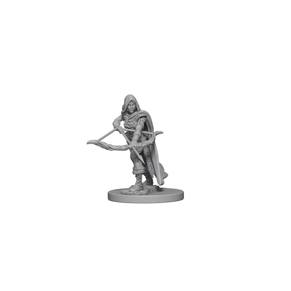 D&D Unpainted Miniatures: Human Female Ranger