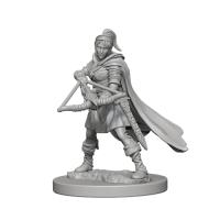 D&D Unpainted Miniatures: Human Female Ranger