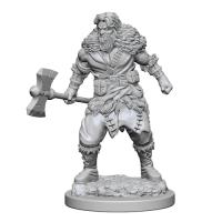 D&D Unpainted Miniatures: Human Male Barbarian