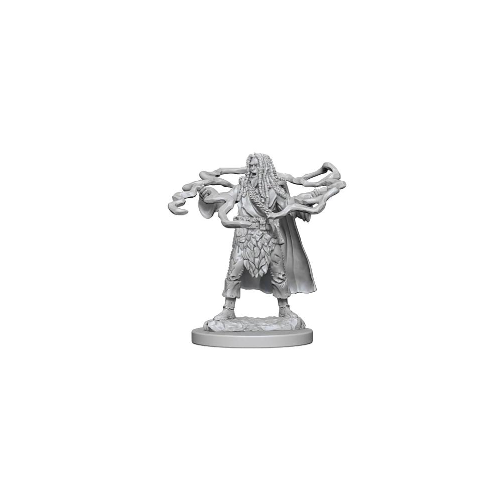 D&D Unpainted Miniatures: Human Male Sorcerer