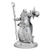 D&D Unpainted Miniatures: Human Male Wizard