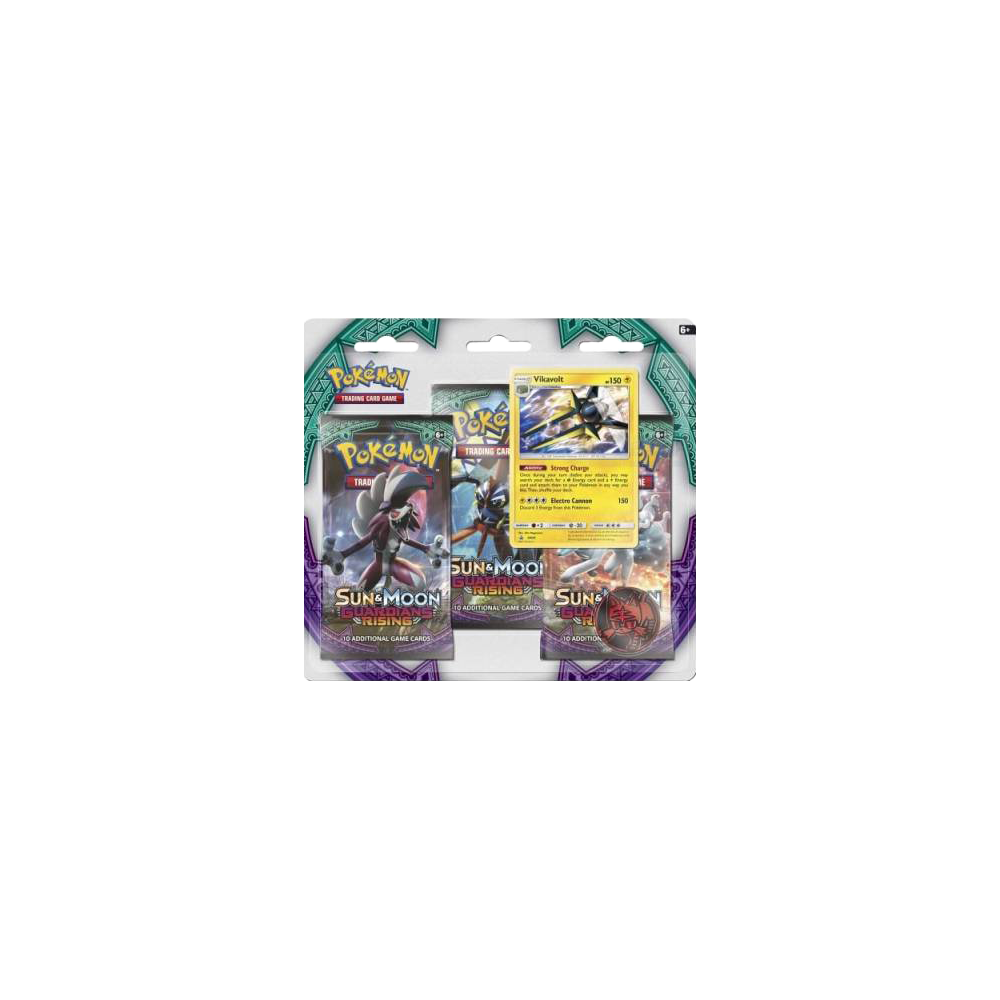 Pokemon Trading Card Game: Sun & Moon Guardians Rising Triple Pack Booster